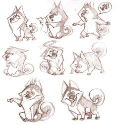 New Drawing Wolf Cartoon Character Design References 60 Ideas Character Design Cartoon, Character Design References, Character Drawing, Character Modeling, Character Creation, Wolf Character, Funny Character, Animal Sketches, Animal Drawings