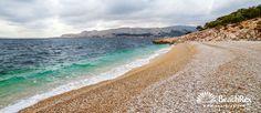 Beach Storišće - Baška - Island Krk - Kvarner - Croatia