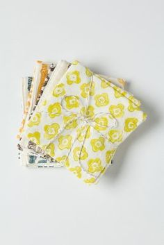 Bundled Saffron Napkin Set from Anthropologie