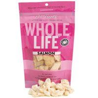 Whole Life Pet Pure Meat All Natural Freeze Dried 100% Salmon, 1oz.