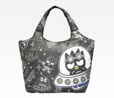 Badtz-Maru Stuffed Medium Tote Bag  Space 471af5d67bb83