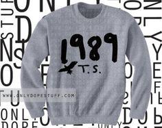 Taylor Swift Shirt 1989 Shirt  Shake It Off Players Gonna Play 1988 Album Sweatshirt