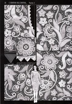 Favoloso vestito all'uncinetto stile irlandese ma con motivi lavorati all'uncinetto tunisino.   fonte:http://www.microsofttranslator.com/bv.asp