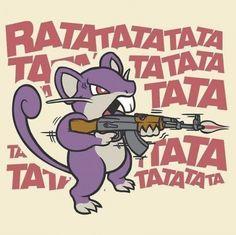 Hahaha #funny #pokemon #ratata