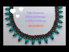 Beaded Necklace - diy and joy Simple Necklace, Diy Necklace, Necklace Designs, Necklace Ideas, Stone Necklace, Diy Schmuck, Schmuck Design, Beaded Jewelry Patterns, Beading Patterns