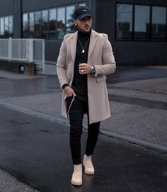 33 Fantastic Outfits Ideas For Inspiration On Winter - Men's style, accessories, mens fashion trends 2020 Winter Outfits Men, Stylish Mens Outfits, Blazer Outfits Men, Mode Masculine, Street Style Outfits Men, Mode Costume, Mode Streetwear, Herren Outfit, Men's Underwear
