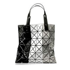 Issey Miyake in black, white and grey.