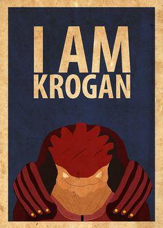 Krogan - Mass Effect. You tell 'em, Wrex!