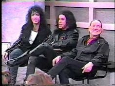 Paul Stanley & Gene Simmons of {KISS} on Geraldo show 1988 #2