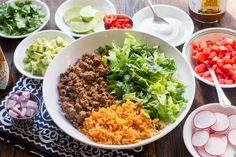 Taco Bowls | The Domestic Man
