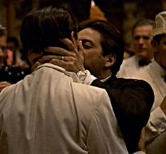 """Michael Corleone confronts his brother, Fredo, in Havana on New Year's Eve with the kiss of death: """"I know it was you, Fredo. You broke my heart. You broke my heart!"""""""