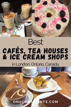 Looking for the best Coffee, Tea & Ice Cream Shops in London, Ontario, Canada? Check out this top list. Best of London ON | Best Coffee, Tea and Ice Cream Shops in London, ON | London, ON | Things to do in London ON | Where to go with kids in London, ON | Best Cafes, Tea Houses and Ice Cream Shops in London Ontario Tea Houses, Best Coffee Shop, Things To Do In London, Cool Cafe, Wine And Beer, Top List, Ontario, Food And Drink, Shops