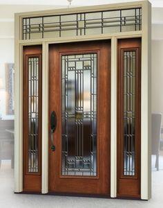 5c87c9eb782 A beautifully designed Provia door with custom glass inserts. Allow Nex-Gen  Home Exteriors