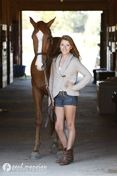 Senior pictures ideas with horses for girls - Horse pictures - Metro Detroit Horse Photographer