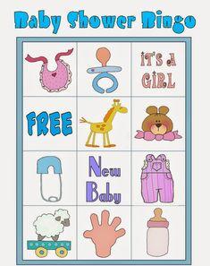 Loteria Para Baby Shower, Bingo Baby Shower, Baby Shower Printables, Shower Party, Free Printables, Diy Baby Shower Decorations, Frozen Bebe, Baby Shawer, Blogger Templates