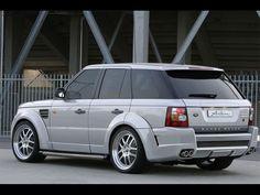Arden Range Rover Sport AR6 (2006) - Rear View
