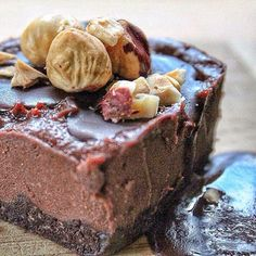You can never go wrong combining #Nutella with extra hazelnuts and chocolate in cheesecake form with a #cookiecrumble base