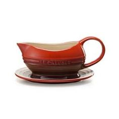 Le Creuset Gravy Dish / Boat and Saucer CERISE (Red) 0.4L: Amazon.co.uk: Kitchen & Home