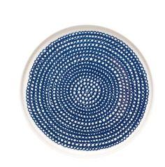 Marimekko Bord Blauw-Wit 20CM | Klevering