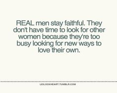 My wonderful husband just brought this subject up to me this week.  He was so disappointed in some men he knows...and the men don't understand why their lives are miserable and falling apart!  I AM SO BLESSED!!!