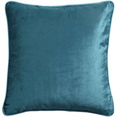 Velvet Pillow - Teal