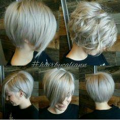 New Hair Cuts For Women Lob Brunettes Ideas Love Hair, Great Hair, Gorgeous Hair, Corte Y Color, Hair Today, Hair Dos, Pretty Hairstyles, Pixie Bob Hairstyles, Blonde Hairstyles