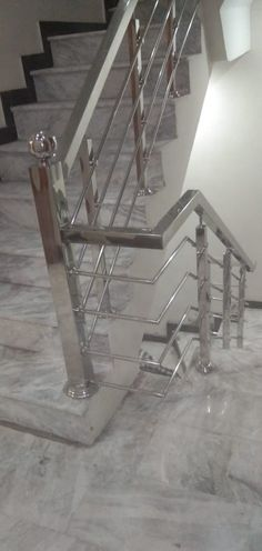 Welding Works, Staircase Railing Design, Stair Case, Stairs, Steel, Furniture, Home Decor, Stairway, Decoration Home