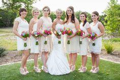 Colorful Texas Plantation Wedding Wedding Real Weddings Photos on WeddingWire www.kendallplantation.com Kendall Plantation Boerne Texas