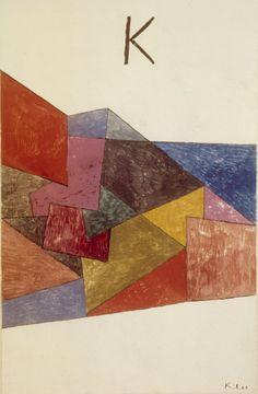 Paul Klee - Kraftwetter, 1933.