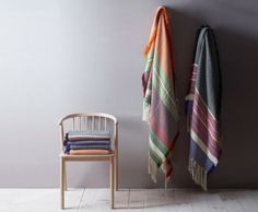 Beautiful plaid designed by Andreas Engesvik and produced by Mandal Veveri