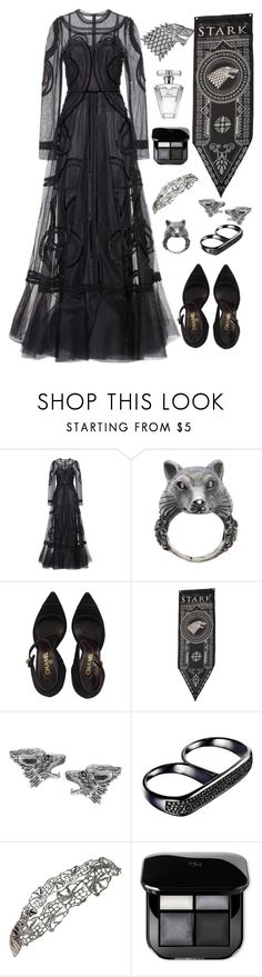"""""""Winter is Coming // House Stark"""" by mrs-malfoy ❤ liked on Polyvore featuring Dolce&Gabbana, Ugo Cacciatori, Chanel, Journee Collection, AS29, Avon, dolceandgabbana, GameOfThrones and HouseStark"""
