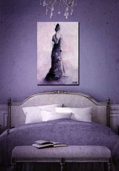 All Things Purple, Light Purple, Lilac, Batman, Bed, Room, Fictional Characters, Furniture, Whisper