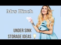 MRS HINCH | UNDER SINK STORAGE IDEAS! #Mrshinch #minky #zoflora #hinch #lenor #coronavirus #diy - YouTube