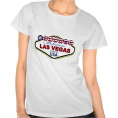 Las Vegas USA Baby Doll T-Shirt