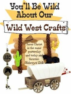 Tons of Wild West Crafts! Creative ideas for any western themed events. Check out MakingFriends.com for them all!