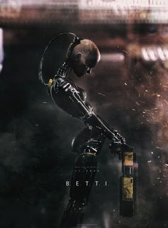 B.E.T.T.I. by Andrew Haynes | Robotic/Cyborg | 3D | CGSociety