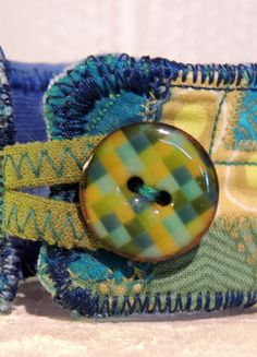Kaufe meinen Artikel bei #Kleiderkreisel http://www.kleiderkreisel.de/accessoires/armbander-and-armreife/117152730-greenblue-wrist-cuff-armband-stoff-manschette