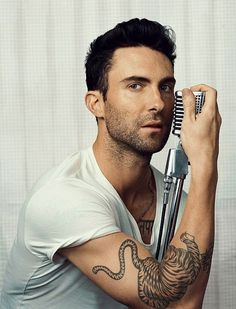 adam levine still one of my favorites... When He Was Superready For His Close-Up