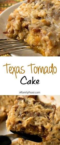 Texas Tornado Cake - recipe from the 50's, we had it often.
