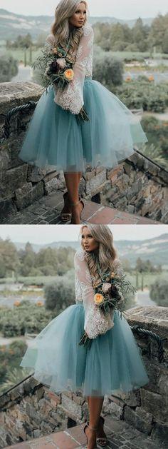 Lace Prom Dresses #LacePromDresses, Short Prom Dresses #ShortPromDresses, Homecoming Dresses 2018 #HomecomingDresses2018, Light Blue Homecoming Dresses #LightBlueHomecomingDresses, Blue Prom Dresses #BluePromDresses, Light Blue Prom Dresses #LightBluePromDresses