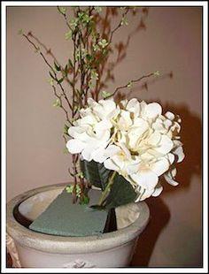 How to create silk flower arrangements