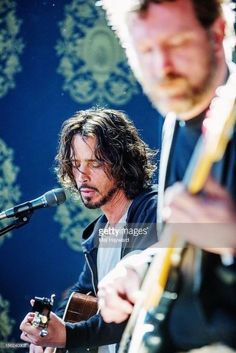 Chris Cornell and Ben Shepherd Performing Chris Cornell, Say Hello To Heaven, Temple Of The Dog, Smiling Man, Rockn Roll, Pearl Jam, Mothers Love, Perfect Man, Rock Music