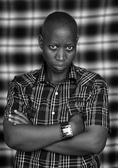 Zanele Muholi (South African, born 1972): Photo of Ntobz Mkhwanazi, BB section Umlazi, Durban, (2012)