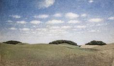 Landscape from Lejre, 1905, Vilhelm Hammershøi