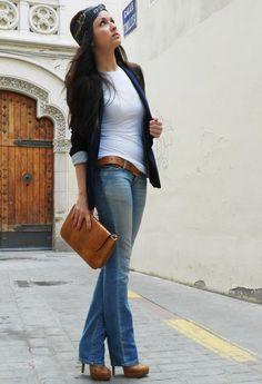 Chains  , Sfera en Camisetas, Primark en Tacones / Plataformas, Salsa Jeans en Jeans