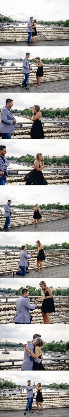 Getting engaged in Paris   Image by Julia Jane Photography, see more http://www.frenchweddingstyle.com/marriage-proposal-in-paris/