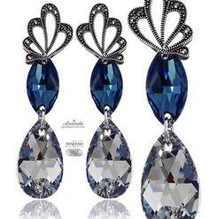 SWAROVSKI SPECIAL kolczyki COMET NEON ADORE SREBRO. Zobaczcie jeden z naszych bestsellerów: .pl/store/pl/p/SWAROVSKI-SPECIAL-kolczyki-COMET-NEON-ADORE-SREBRO/4174 #Swarovski #biżuteria #kolczyki