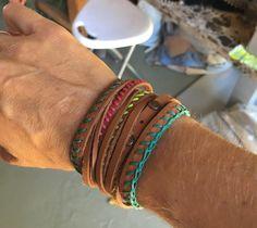 Leather bracelet #so cape #leather #bracelet Cape, Bracelets, Leather, Jewelry, Mantle, Bangle Bracelets, Jewellery Making, Cabo, Jewerly