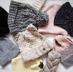 Cozy hats