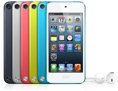Apple's iPod Touch with vibrant colors and lower prices
